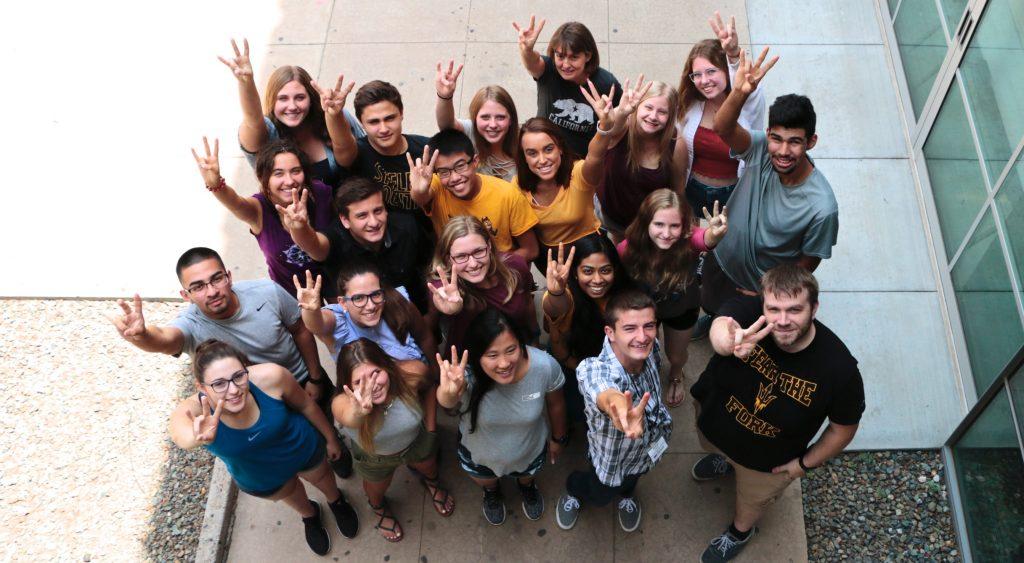 Students in ASU's Actuarial Science Program